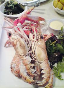 Langoustine at Gandolfi Fish