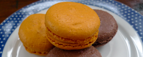 Delicious macaroons from Patisserie Madeleine