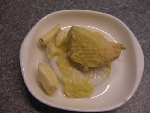 Garlic Saucer