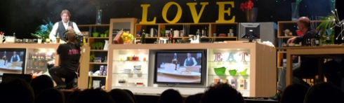 James Martin on Love Cooking, Edinburgh