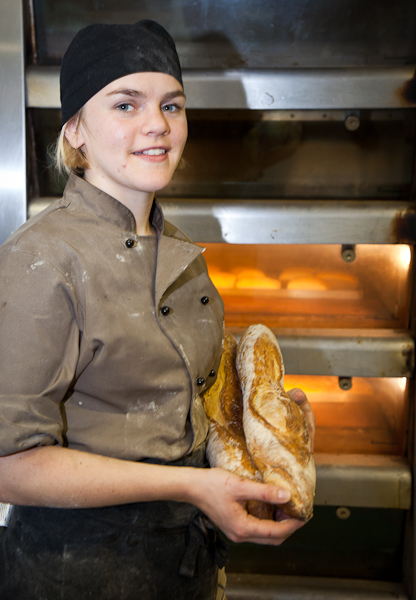 Georgie Crisp, Head Baker