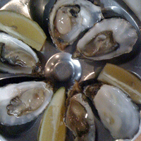 Oysters. Ah!